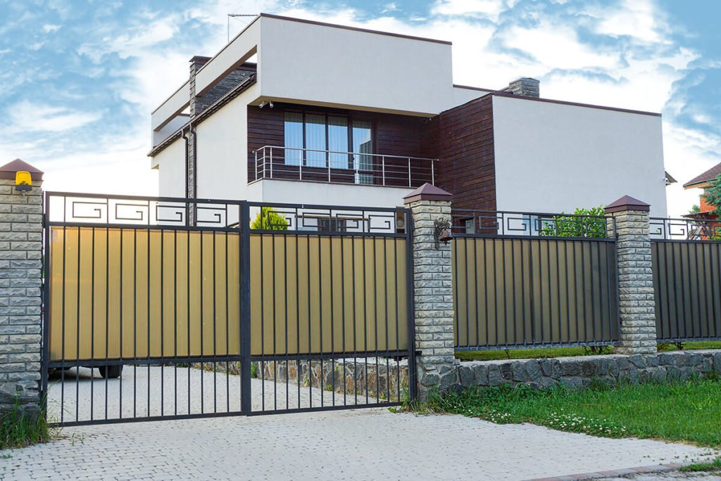 modern-house-with-gate