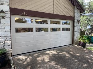 hill country overhead door garage door for customer