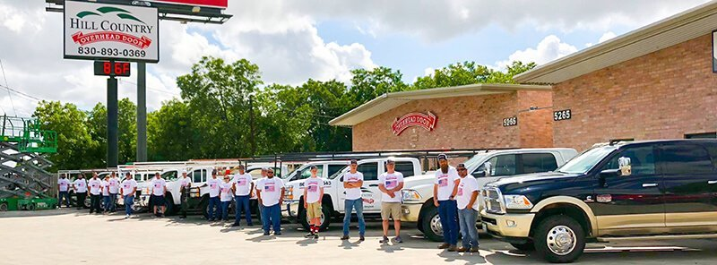 hill country overhead door team